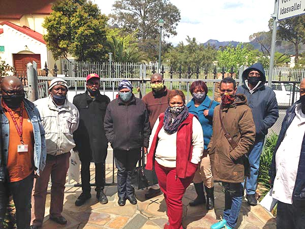 Stellenbosch United Action Group
