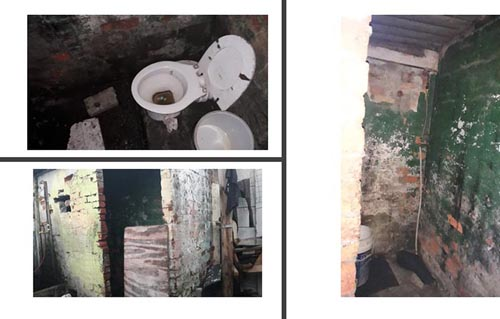 State of toilets in Idas Valley's backyards (2019)